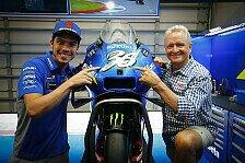MotoGP: Joan Mir ehrt in Austin Kevin Schwantz