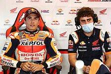 MotoGP: Marc Marquez mit Spezial-Lederkombi wegen Schulter