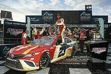 NASCAR 2021 Talladega II: Wallace holt 1. Karriere-Sieg