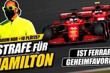 Formel 1 - Video: Formel 1: Hamilton bestraft! Aber warum nur +10 Plätze?