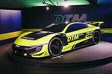 DTM Electric: Rennauto für neue Serie am Norisring präsentiert