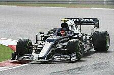Formel 1, Gasly fliegt im Türkei-Qualifying: An Verstappen dran