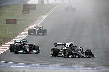 Formel 1, Tsunoda blockt Hamilton: Wollte 30 Runden schaffen!