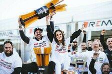 Maximilian Götz feiert DTM-Meisterschaft 2021