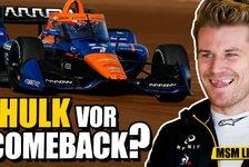 Formel 1 - Video: Hülkenberg testet für McLaren: Indycar statt Formel 1!