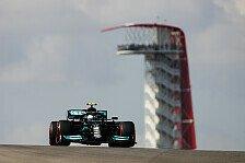 Formel 1 USA, FP1: Bottas und Hamilton zerstören Red Bull