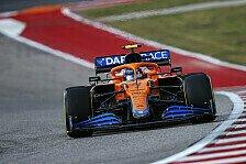 Formel 1 USA, Norris schlägt Mercedes: McLaren in Lauerstellung