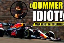 Formel 1 - Video: Verstappen zeigt Hamilton den Mittelfinger!