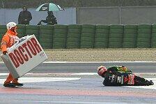 MotoGP: Schlüsselbeinbruch für Lorenzo Savadori in Misano