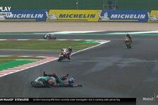 MotoGP-Crashes: Schockmomente in Misano