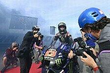 MotoGP: Live-Ticker - Fabio Quartararo gewinnt die WM