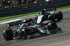 Formel 1 USA, Vettel rettet nach Strafe Punkt: Hart erkämpft