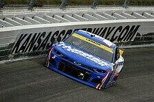 NASCAR 2021 Kansas II: Larson siegt zum dritten Mal in Folge