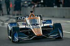Alle Bilder von Nico Hülkenbergs Indycar-Test für McLaren SP