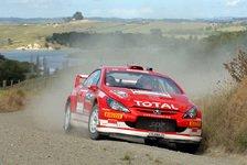 WRC - Peugeot verzockte sich in der Reifenwahl