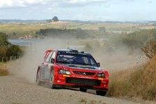 WRC - Schwieriger Start für Mitsubishi