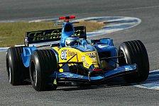 Formel 1 - Fisichella: Der R25 ist aggressiv und schön