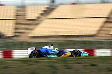 Formel 1 - Testing Time, Tag 4: Nach dem Schweigen kam der Regen