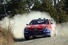 WRC - Neuseeland Tag 2: Loeb baut seinen Vorsprung aus