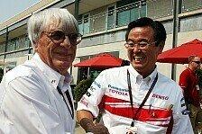 Formel 1 - Ecclestone wirft Toyota-Comeback in den Raum