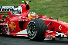 Formel 1 - Monza: Badoer setzte Testfahrten fort