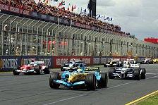Formel 1 - Quotendruck für die F1