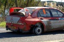 WRC - Mitsubishi: Ein Auto muss in die Top-5