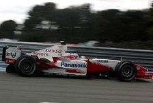 Formel 1 - Bilder: Toyota-Test von Borja Garcia (Paul Ricard, 16.04.05)