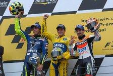MotoGP - Rennen MotoGP: Alex Barros gewinnt vor Valentino Rossi und Max Biaggi