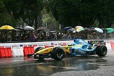 Formel 1 - Fisichella begeistert Rom