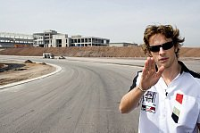 Formel 1 - Istanbul Circuit: Jenson Button war erfreut