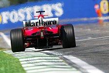 Formel 1 - Gute Zeichen für Ferrari