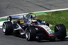 Formel 1 - 2. Freies Training: De la Rosa hält die Spitze