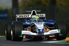 Formel 1 - Massa und Villeneuve sind zufrieden