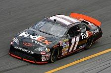 NASCAR - Denny Hamlin & Kyle Petty