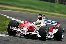 Formel 1 - Toyota: Zwei Punkte für Enzo