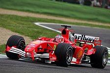 Formel 1 - Rubens sammelt alles auf