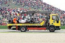 Formel 1 - Minardi: Die Befürchtungen bewahrheiteten sich