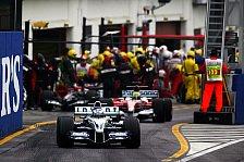 Formel 1 - Enttäuschendes Wochenende für BMW-Williams