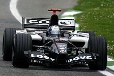 Formel 1 - Minardi-Kollision bei Testauftakt