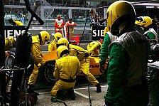 Formel 1 - Jordan beklatscht Fortschritte und die Zuverlässigkeit