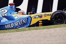 Formel 1 - Renault: Alonsos Motor sorgte für ein Fragezeichen