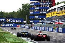 Formel 1 - Imola vs. Monza: Streit um Italien GP