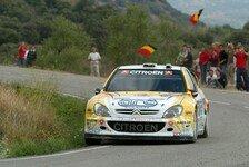 WRC - Fünfter Platz in Spanien