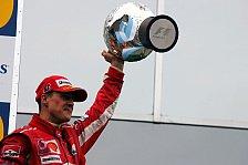 Formel 1 - Gerhard Berger setzt auf Schumacher
