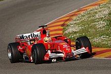 Formel 1 - Ferrari schließt Fiorano-Test ab