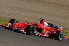 Formel 1 - Bilder: Mugello-Testfahrten ab dem 26.04.2005