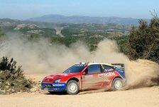 WRC - Sardinien Tag 1: Sebastien Loeb vor Petter Solberg