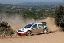 WRC - Harter Tag für Skoda
