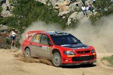 WRC - Mitsubishi: Große Sorgen um die Reifen